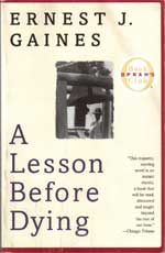 A Lesson Before Dying book jacket