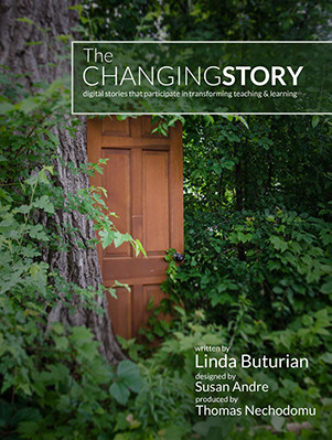 the changing story book cover