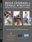 DVD cover for Media Coverage and Female Athletes video