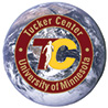 Tucker Center logo superimposed over an image of the earth